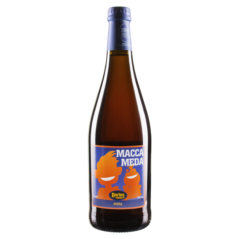 Barley - Macca Media 75cl copia
