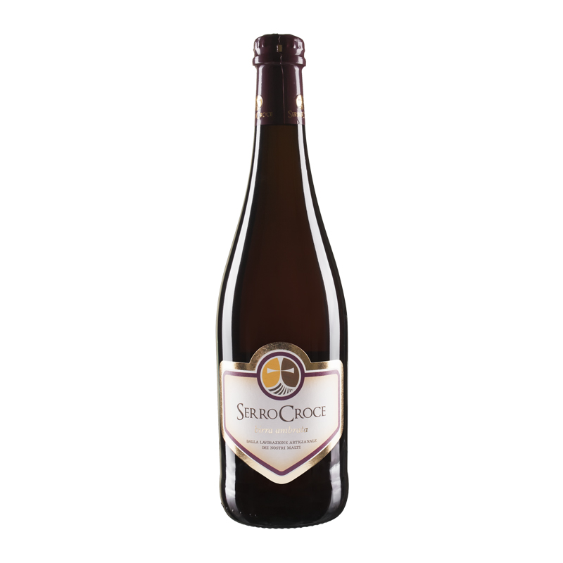 SerroCroce - birra ambrata 75cl copia